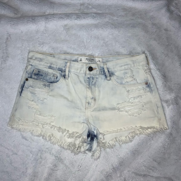 Abercrombie & Fitch Pants - abercrombie & fitch high waisted shorts